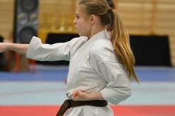 Świetna rywalizacja karateków w Zdziechowie