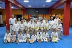 Młodzi karatecy Samuraja przeszli egzaminy