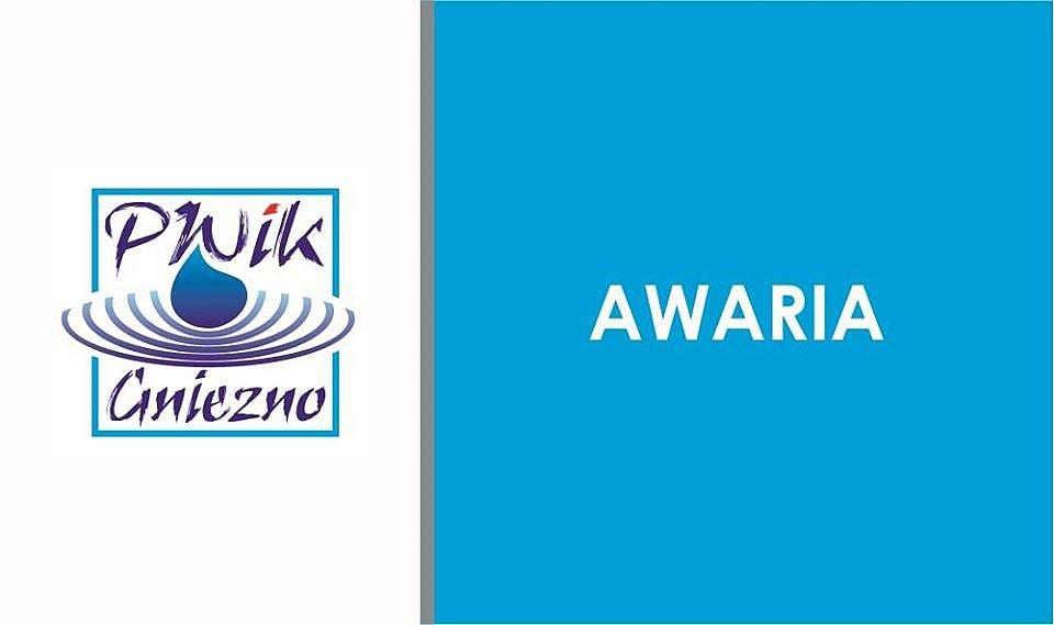 Komunikat PWiK: awaria sieci wodociągowej i utrudnienia w ruchu w centrum Gniezna