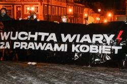 Strajk Kobiet ponownie na ulicach Gniezna