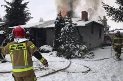 Pożar w Imielnie