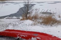 Kolejny pies utonął pod lodem