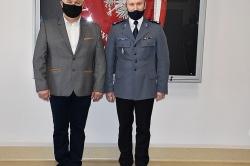 Dyżurny Mariusz Gielewski już na emeryturze