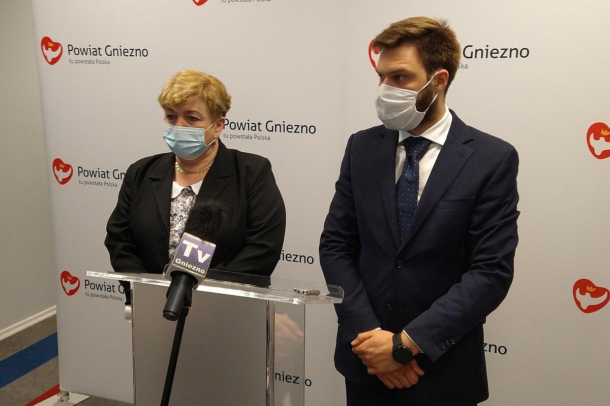 Danuta Winiarska liczy na pomoc posła Zbigniewa Dolaty w walce o neurologię i udarówkę