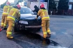 Zderzenie na skrzyżowaniu ul. Witkowskiej i Słonecznej