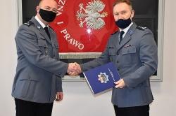 Podinsp. Robert Recki nowym zastępcą Komendanta Powiatowego w Gnieźnie