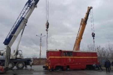 Lokomotywa spalinowa wróciła ze Środy na szlak Gnieźnieńskiej Kolei Wąskotorowej