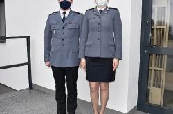 Nowa komendant Komisariatu Policji w Kłecku