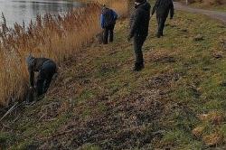 Wędkarze sprzątali Jezioro Jelonek