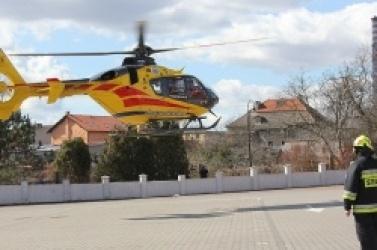 Dwa śmigłowe LPR lądowały w gminie Trzemeszno!