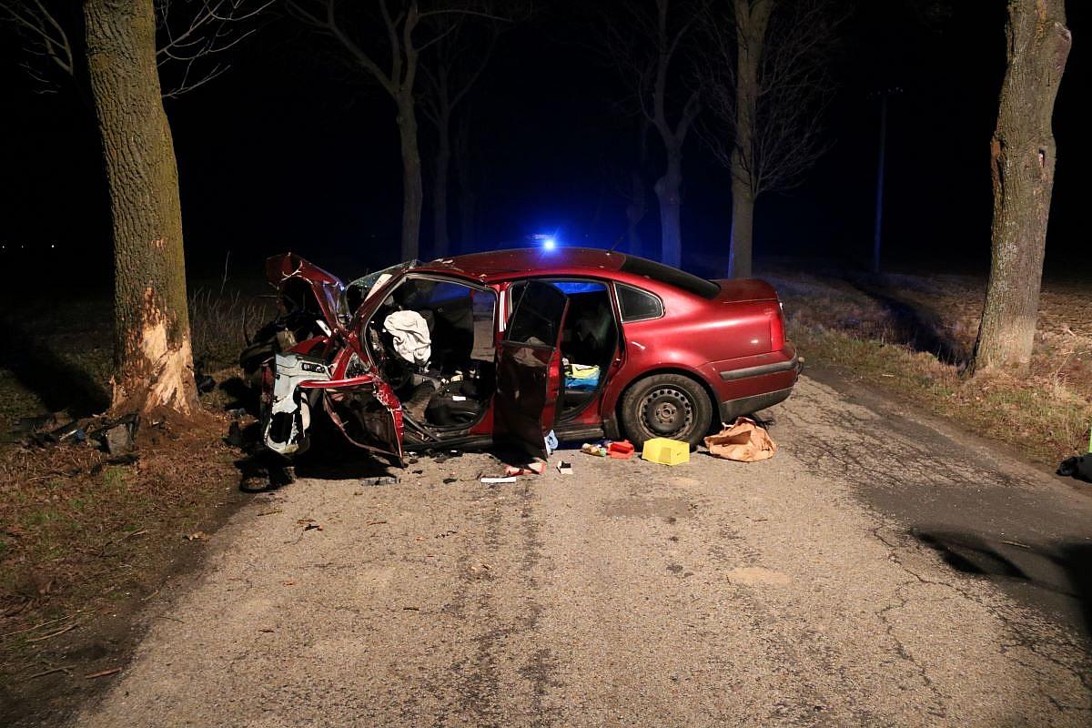 31-letni mieszkaniec powiatu gnieźnieńskiego zginął w wypadku pod Mogilnem