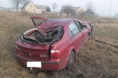 Zderzenie dwóch samochodów w Wiekowie! Jedna z kierujących jechała