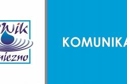 Komunikat PWiK: przerwa w dostawie wody