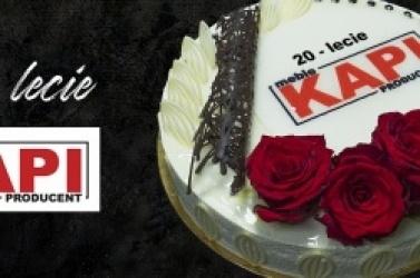 20-lecie firmy KAPI - wiodącego producenta mebli w naszym regionie