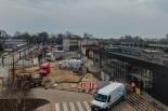 Trwa budowa Zintegrowanego Centrum Przesiadkowego