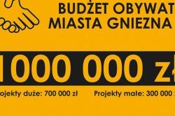Milion złotych na Budżet Obywatelski