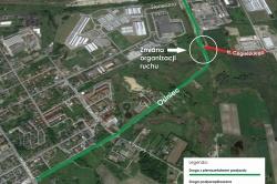 Zmiana organizacji ruchu na skrzyżowaniu ul. Osiniec i Pod Trzema Mostami