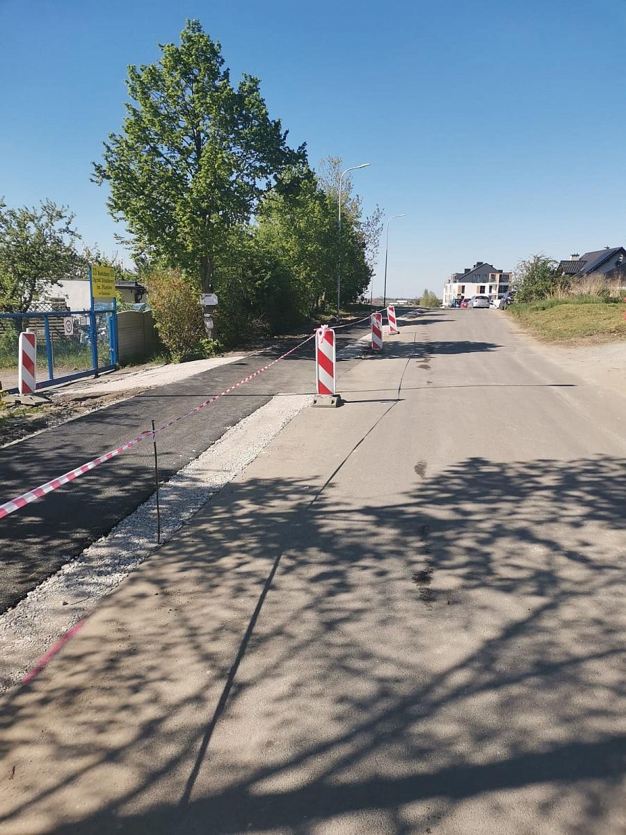 Chodnik wzdłuż ulicy Północnej - ważny komunikat!