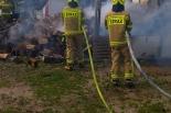 7 zastępów Straży Pożarnej walczyło z ogniem w Mnichowie