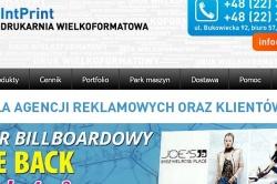 Druk wielkoformatowy od Intprint.pl