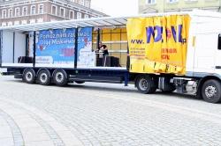 Ciężarówką przez Polskę dla Olgi