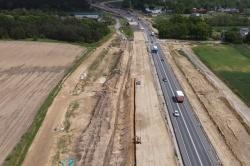 Budowa drogi ekspresowej S5 w województwie kujawsko-pomorskim idzie zgodnie z planem