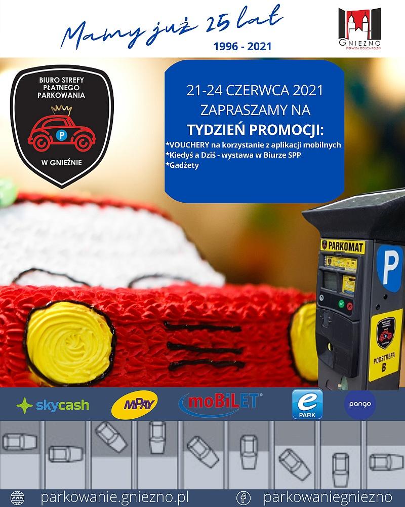 25-lecie Strefy Płatnego Parkowania w Gnieźnie