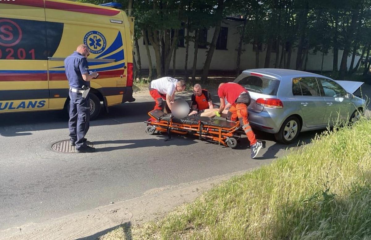 Wypadek na ul. Konikowo! 20-latka w szpitalu!