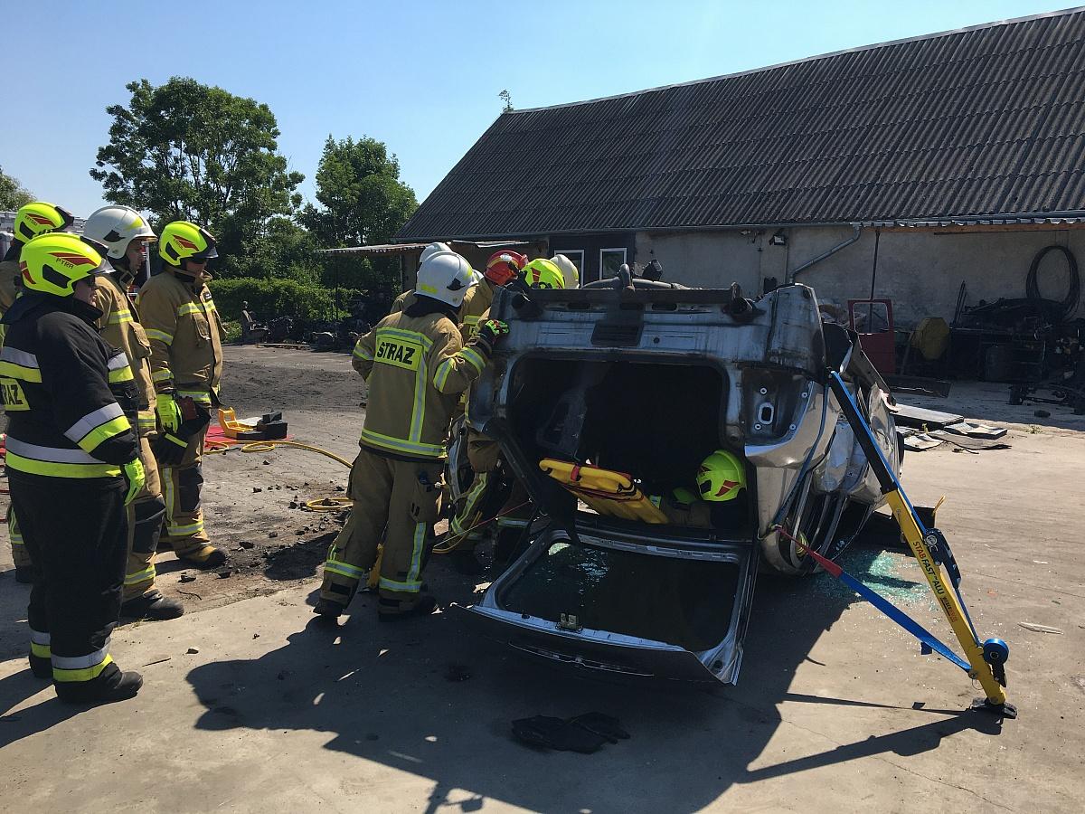 18 zastępów Straży Pożarnej wzięło udział w ćwiczeniach