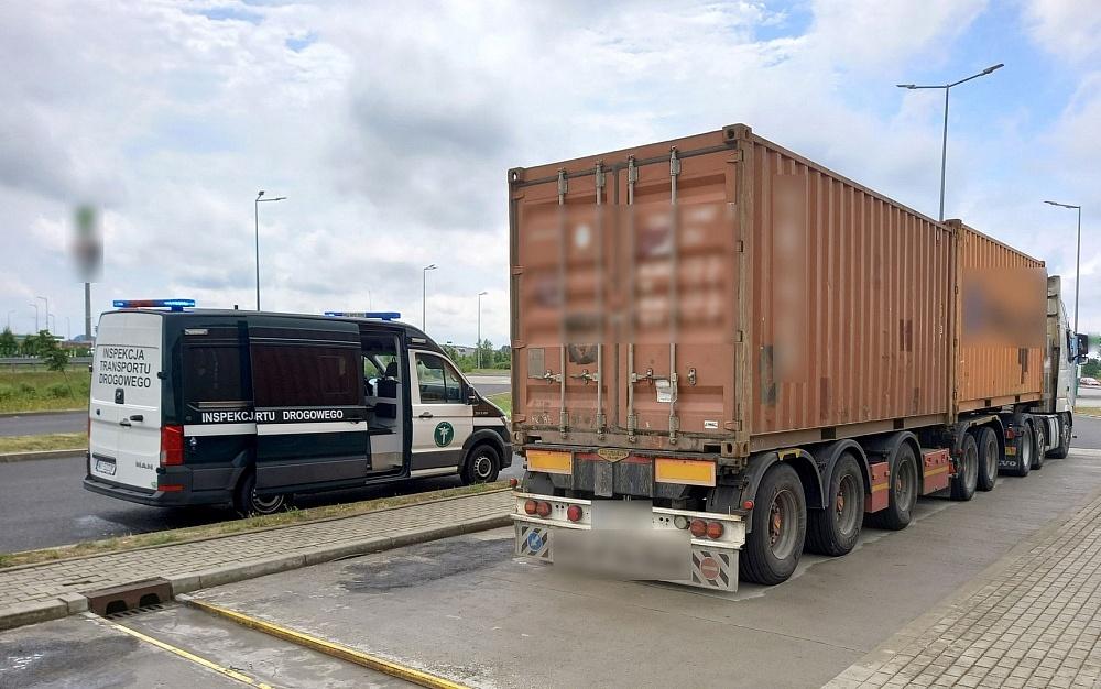 Za ciężkie kontenery morskie