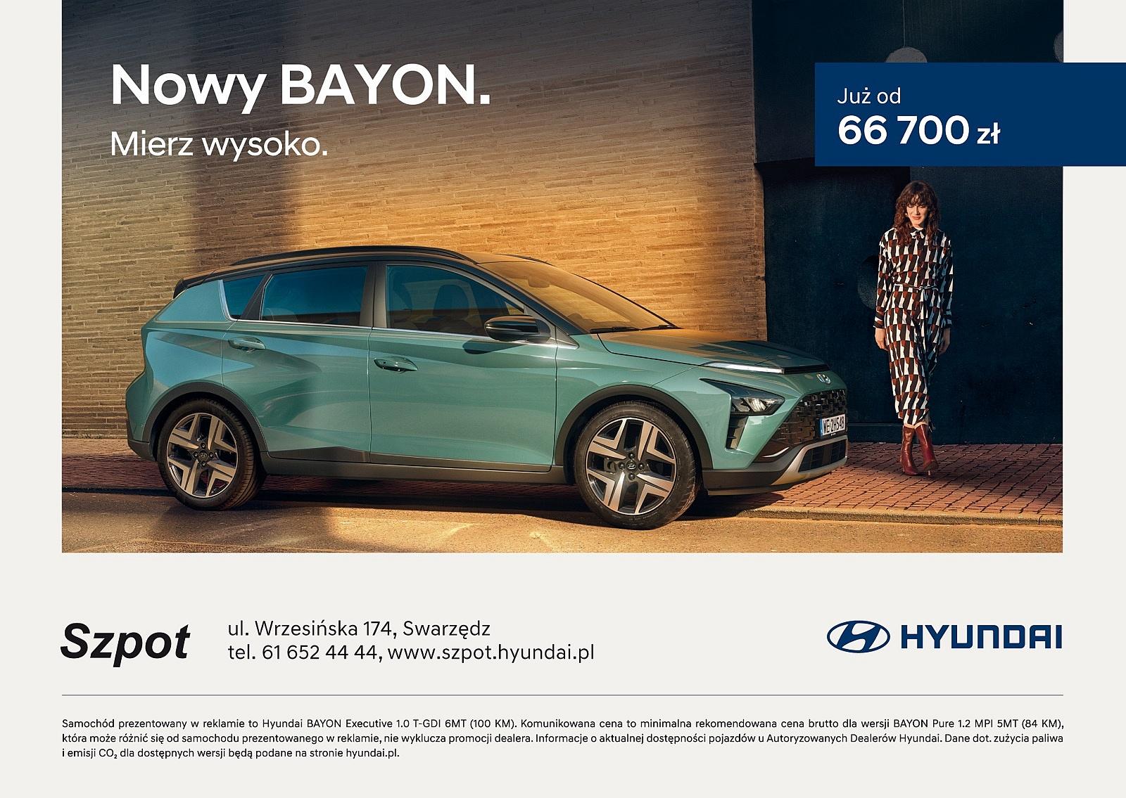 Nowy model SUVa Hyundai dostępny od ręki w Hyundai Szpot
