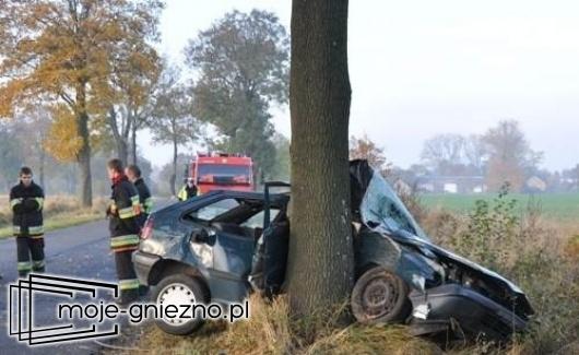 Tragiczny wypadek w Kamieńcu w gminie Kłecko
