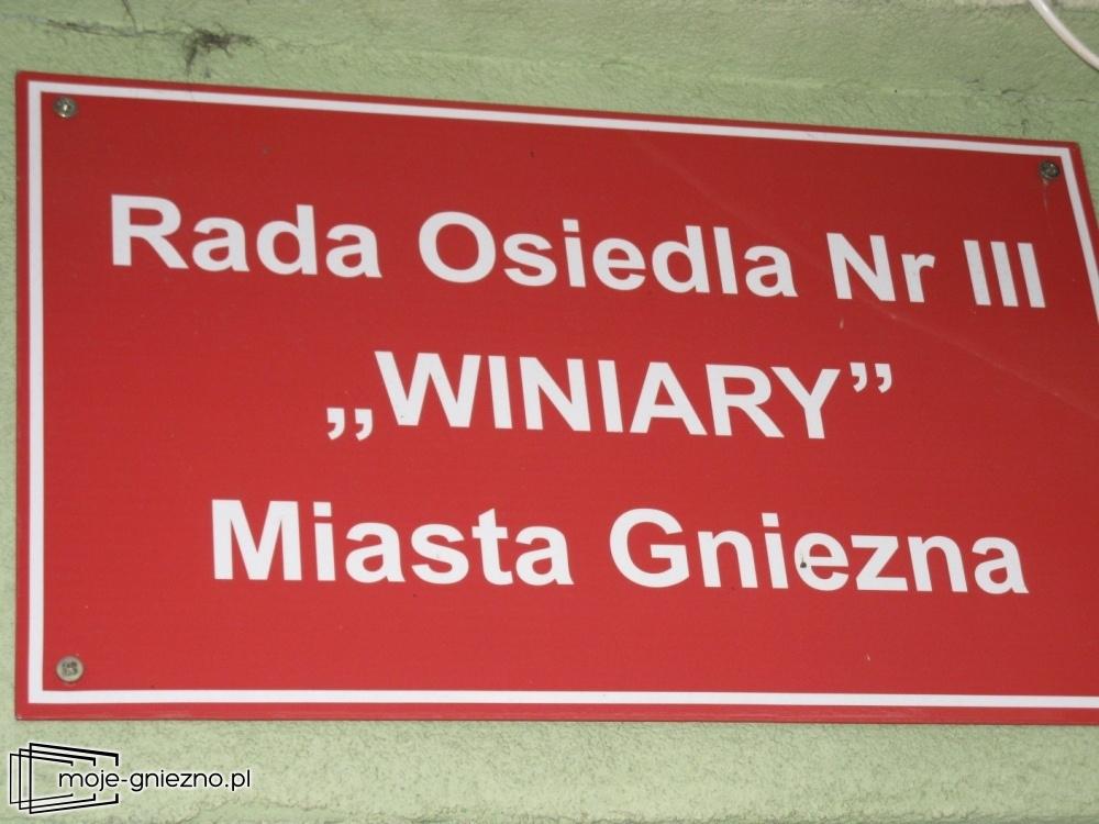Rada Osiedla Winiary działa