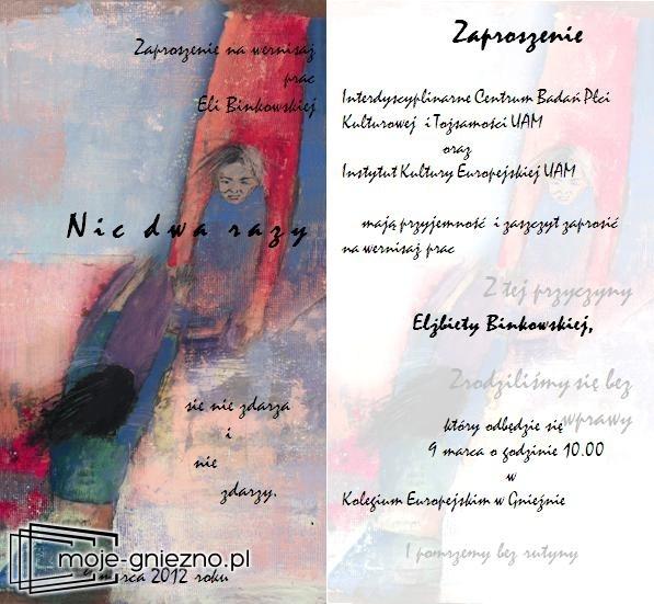 Wystawa Elżbiety Binkowskiej w CEG