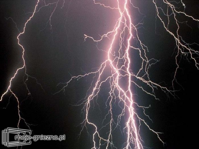 Ostrzeżenie meteorologiczne - silne burze