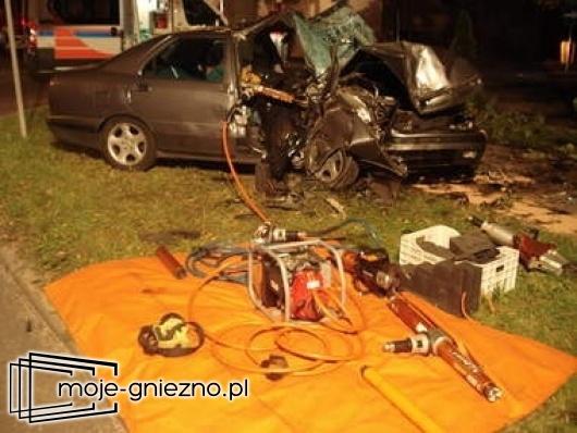 Tragiczny wypadek w Witkowie