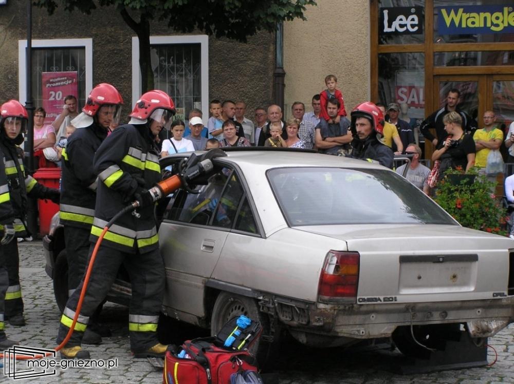 Weekend bez ofiar, czyli pokazy strażaków na Rynku