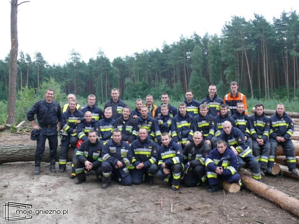 25 strażaków po kursie pilarza