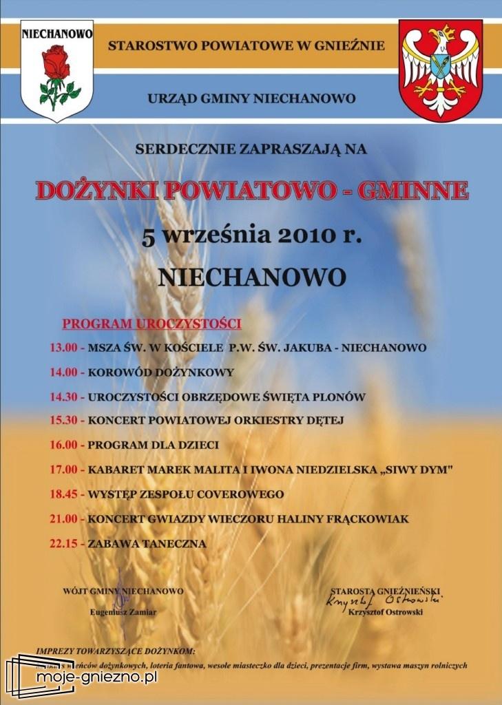 Dożynki Powiatowo-Gminne w Niechanowie
