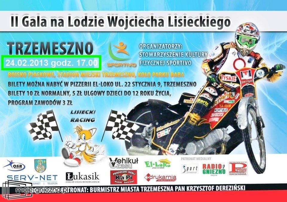 II Gala na Lodzie Wojciecha Lisieckiego