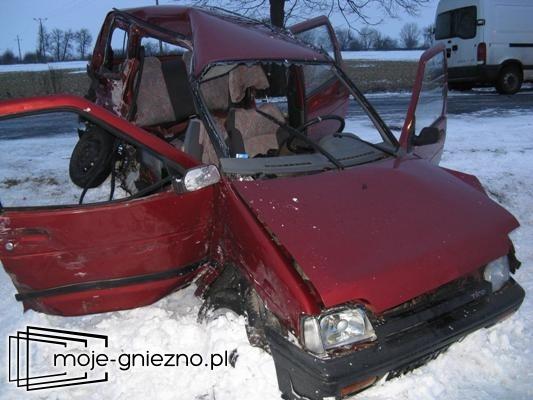 Tragiczny wypadek w okolicy Działynia