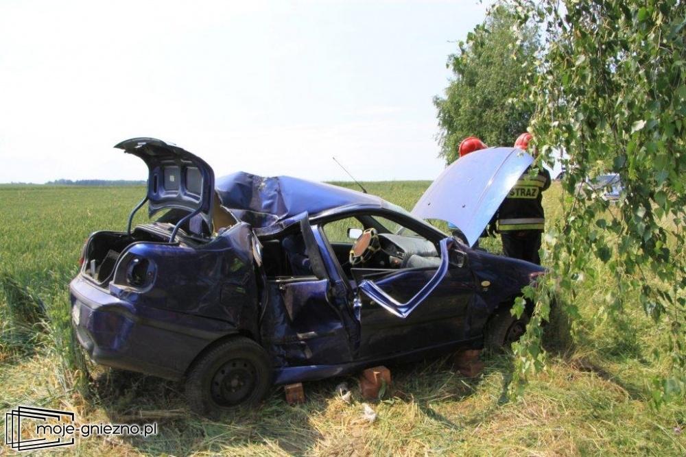 Groźny wypadek w Jelitowie