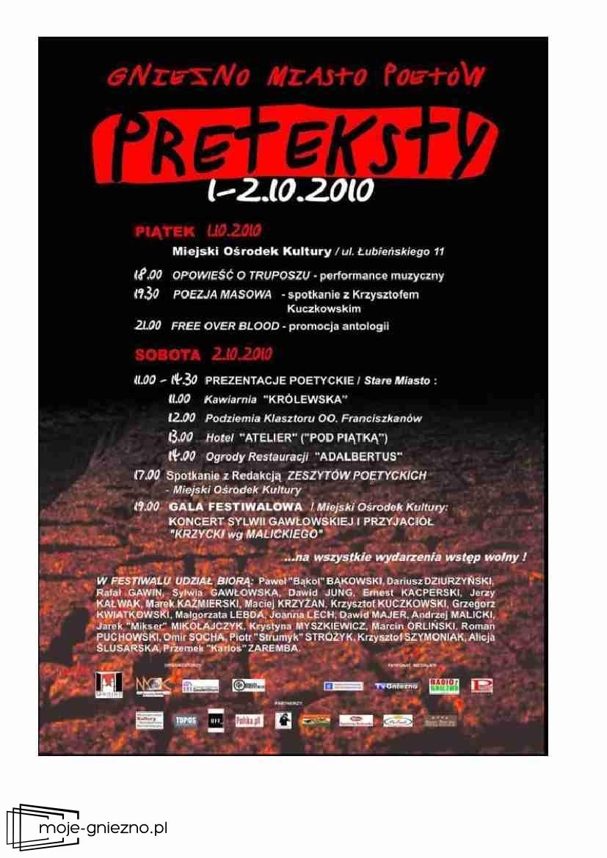Preteksty 2010 - ,,Opowieść truposza