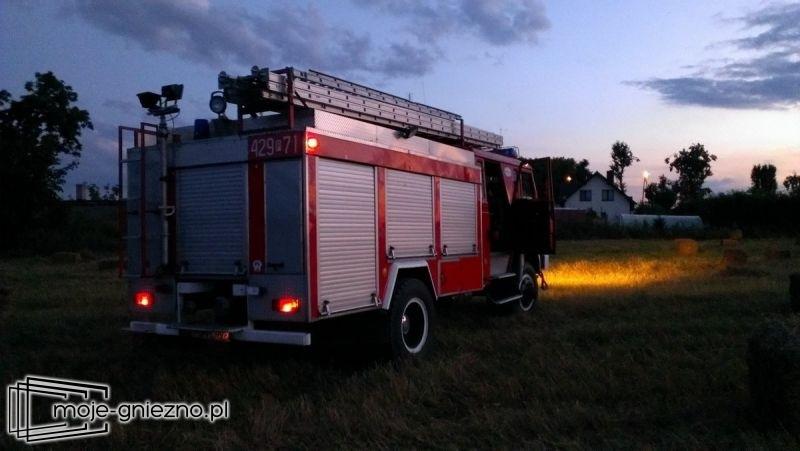 Pożar na ul. Kochanowskiego w Trzemesznie