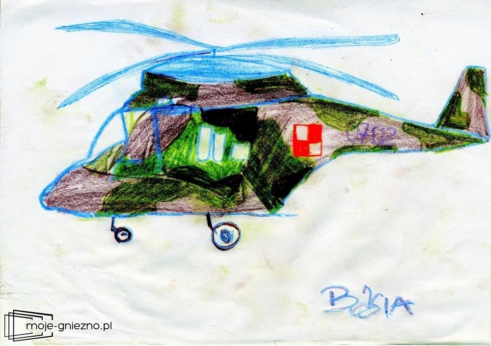 Podziękowanie dzieci dla żołnierzy w Powidzu