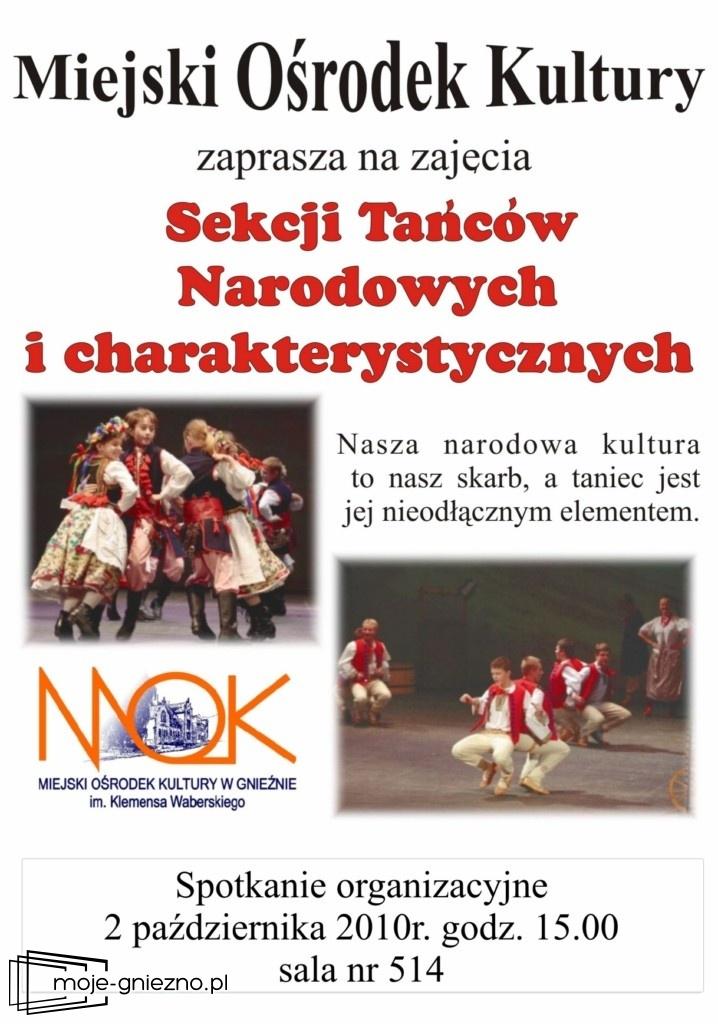 MOK zaprasza na zajęcia Sekcji Tańców Narodowych
