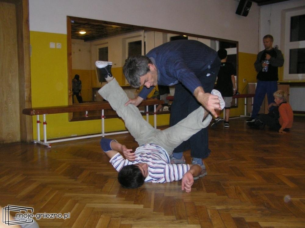 Break dance pod okiem Macieja Kiełpińskiego