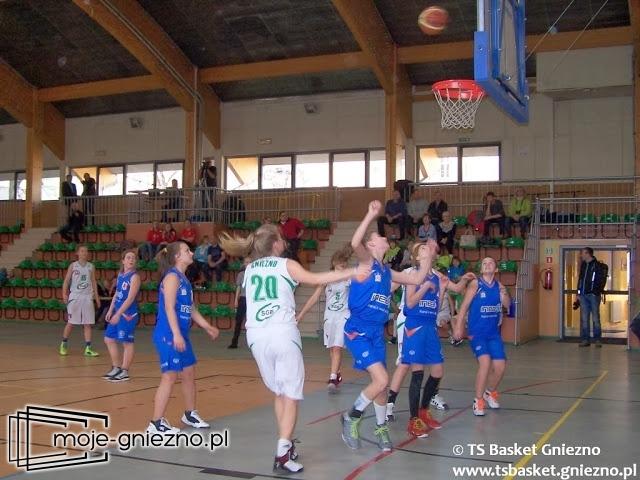 Kolejna wygrana ligowa Start SGB TS Basket Gniezno