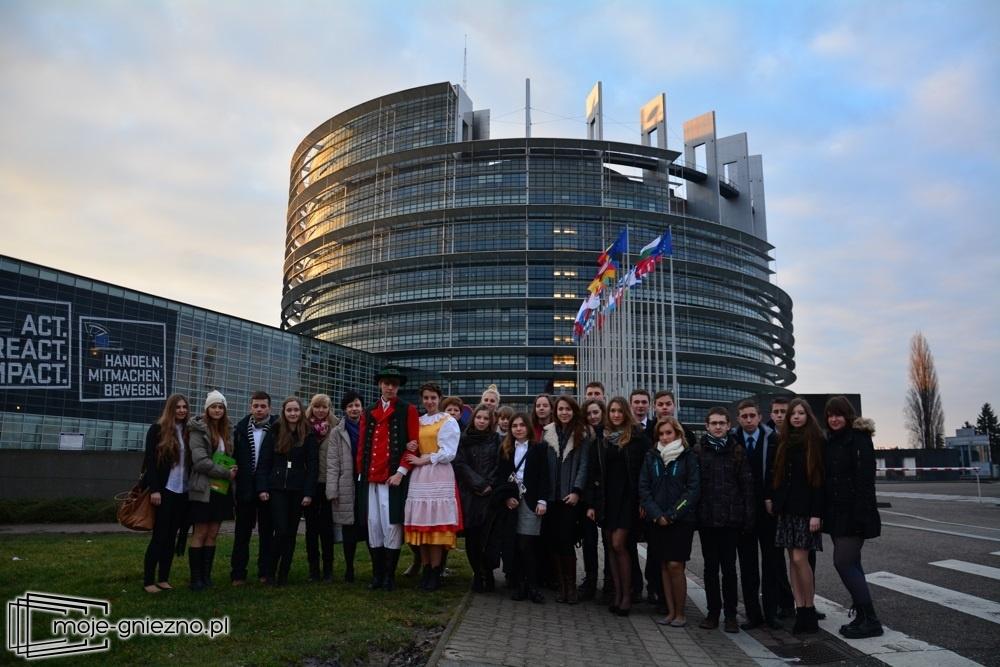 Licealiści z II LO z wizytą w Europarlamencie