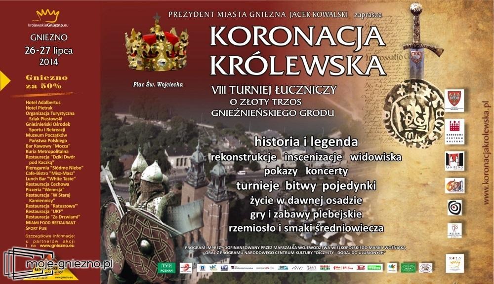 Koronacja Królewska już 26 - 27 lipca
